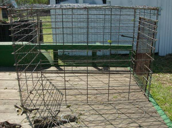 Cage for goats or small animals - $35 (Waco,Tx)
