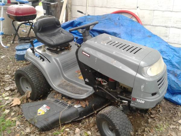 sears riding lawn mower