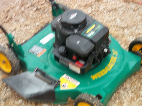 2004 WEEDEATER PUSH MOWER - $65 (waco)