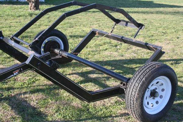 Hay Dolly Hay Bale trailer - $450 (Price is Firm 15 mins from Waco)