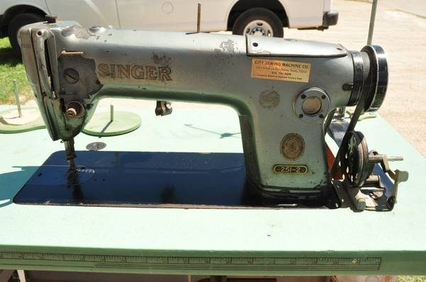 Industrial SINGER 251-2 Sewing Machine, NEW MOTOR  - $400 (Waco)