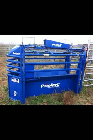 Priefert Fully Automatic Team Roping Chute - $2950 (Lorena)