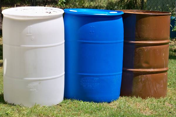 Metal Plastic Barrels for Sale ( Waco, Texas)