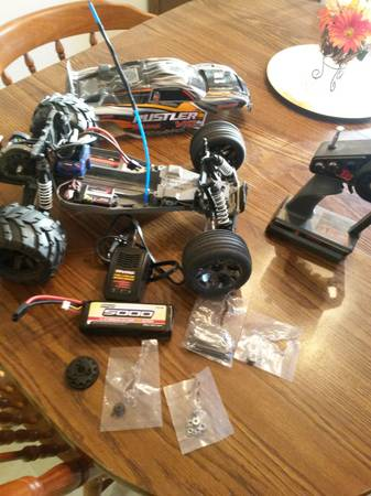 Ruslter VXL  Comes with LiPo Battery and upgrades   -   x0024 200  Lorena  TX