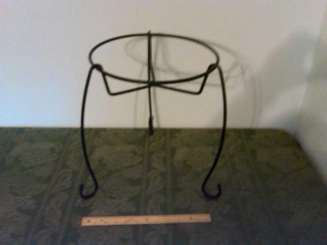 10  Wrought Iron Plant Stand