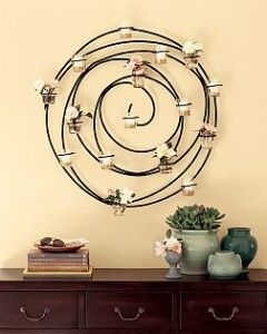 Pottery Barn Spiral Candle Holder - $40 (Woodway)