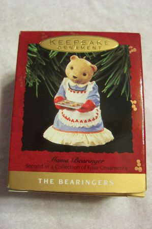 Hallmark Keepsake Christmas Ornaments - The Bearingers Set - $10 (Waco)