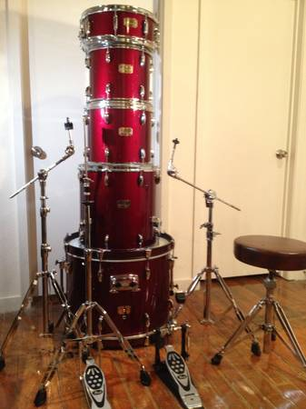 Pearl Export Series 5 piece PLUS Hardware - $435 (Baylor Area)
