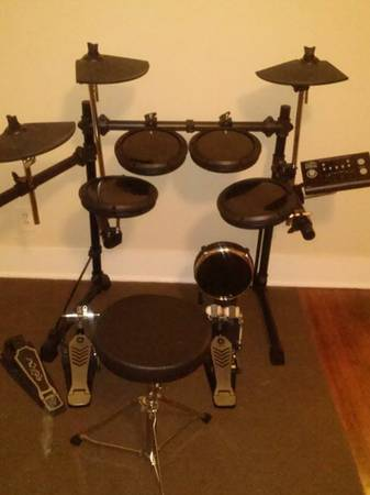 OSP DD-502 MKII electrionic drum kit (Great condition) - $250 (Waco, Texas)