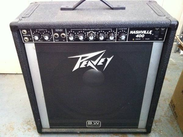 peavey nashville 400 - $450 (meet in waco)