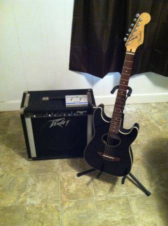 Guitar and Amp - $450 (West )