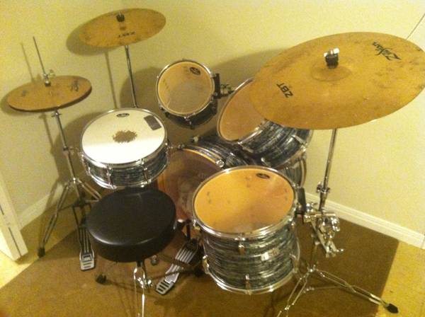 Drum Kit Pearl EXR Export Series Drums - $600 (Waco (Central Texas))