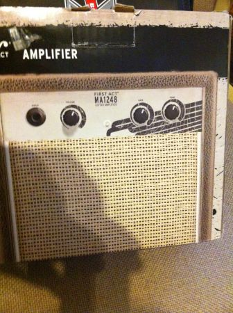 Practice Amplifier First Act Electric Guitar Model MA1248 Amp-Works - $20 (obo-waco)