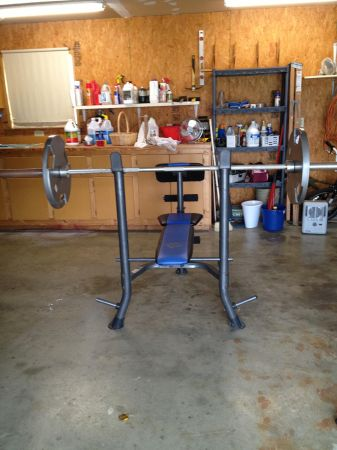 Golds Gym Weight Bench - $200 (Corsicana, Texas)