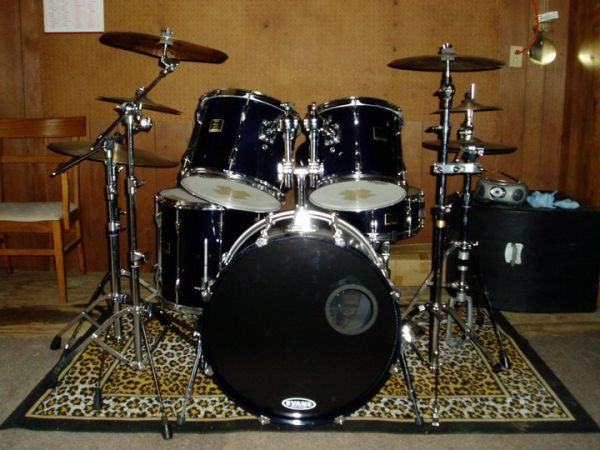 Yamaha Custom Stage 5-Piece Drum Kit - $2400 (Limestone County)