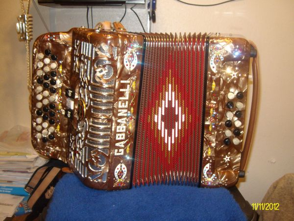 Gabbanelli Accordion - $2800 (Waco)