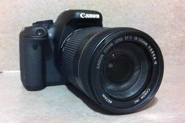 Canon EOS Rebel T3i DSLR Camera WEF-S 18-135mm f3.5-5.6 IS Lens - $700 (Waco)