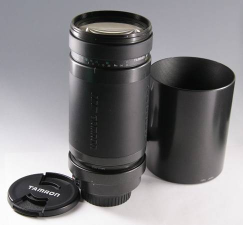 Tamron 200-400 mm lens for Canon AF -   x0024 300  Elm Mott