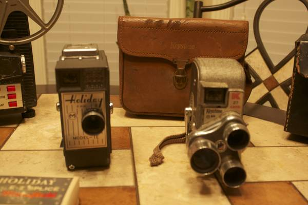 antique cameras 8mm projector -   x0024 100  waco