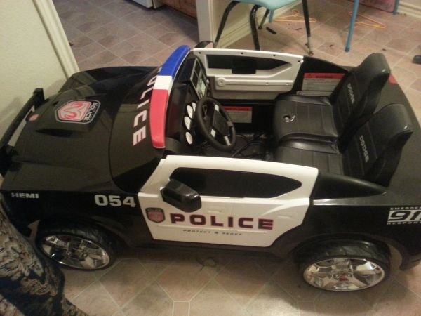 Dodge Charger Police Power Wheel Car  - $200 (Waco, Tx)