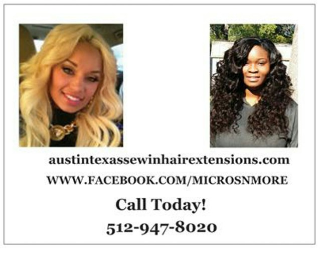 Hair Extensions Salon Alternative 5129478020  120-  280 AustinTexas SewIn HairExtensions Com