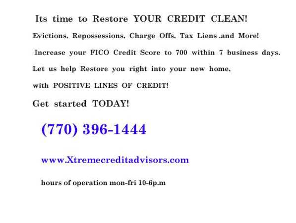 Restore your credit in 7 days with XTREME CREDIT ADVISORS
